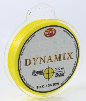 WFT Round Dynamix gelb 0,16 - 14 KG 300m