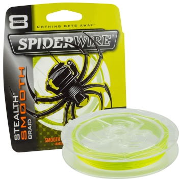SpiderWire Stealth Smooth 8 - Gelb / Yellow - 0,17mm - 15,8kg - 150m