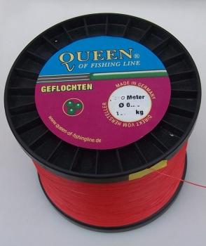 Queen of Fishing Line TARALEN 4-fach rundgeflochtene Schnur 0,25//19,9kg je 100m